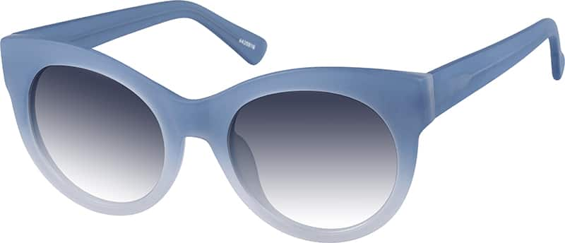 Blue Cat Eye Sunglasses  blue venice cat eye sunglasses 44209 zenni optical eyeglasses