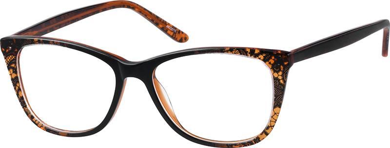 Zenni Optical Square Glasses : Brown Square Glasses #44220 Zenni Optical Eyeglasses