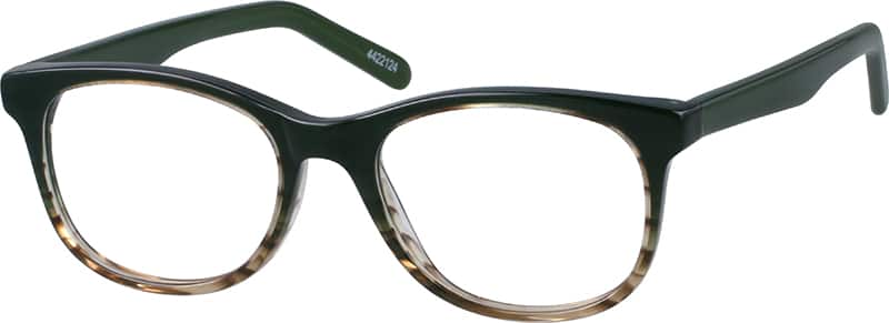 Women Full Rim Acetate/Plastic Eyeglasses #4422124