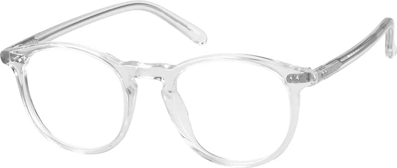 Translucent Round Eyeglasses 44224 Zenni Optical Eyeglasses
