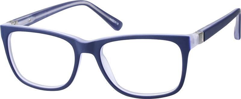 Zenni Optical Square Glasses : Blue Square Glasses #44228 Zenni Optical Eyeglasses