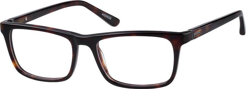 UnisexFull RimAcetate/PlasticEyeglasses #4423021
