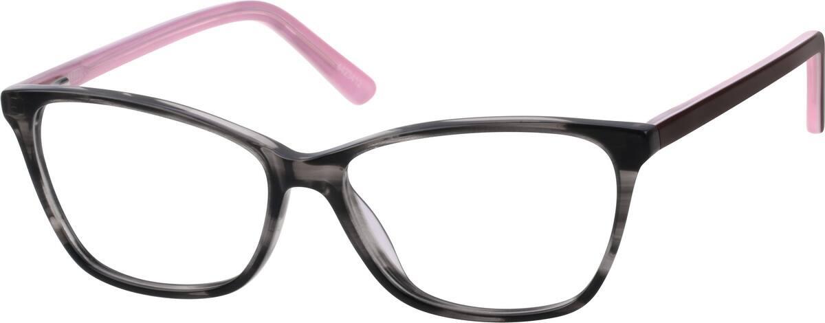 WomenFull RimAcetate/PlasticEyeglasses #4423421
