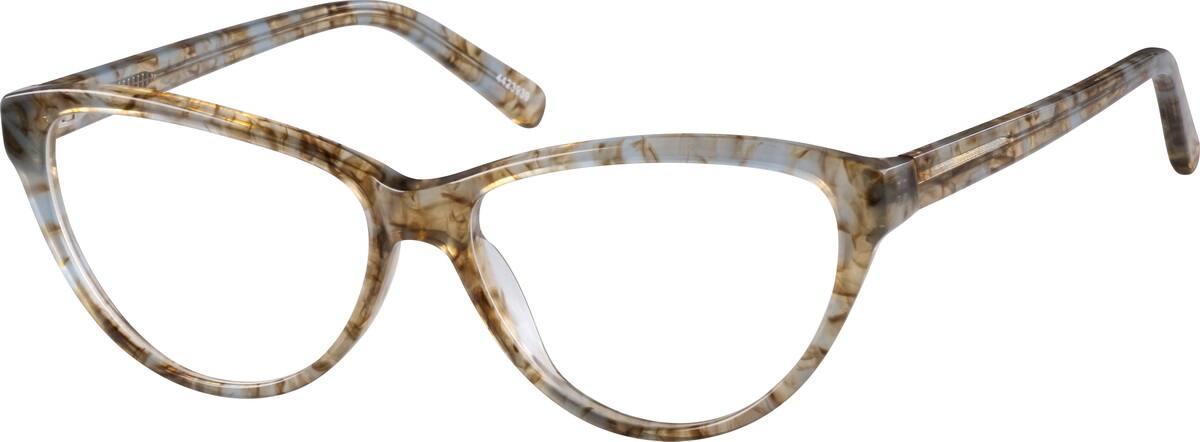 WomenFull RimAcetate/PlasticEyeglasses #4423939
