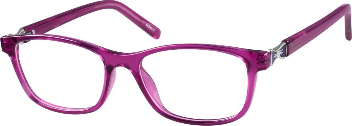Purple Kids Rectangle Glasses #44240 Zenni Optical ...