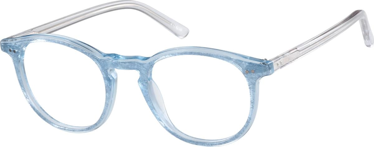 Gray Round Glasses #44242 Zenni Optical Eyeglasses