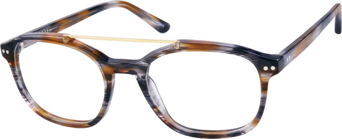 UnisexFull RimAcetate/PlasticEyeglasses #4424315