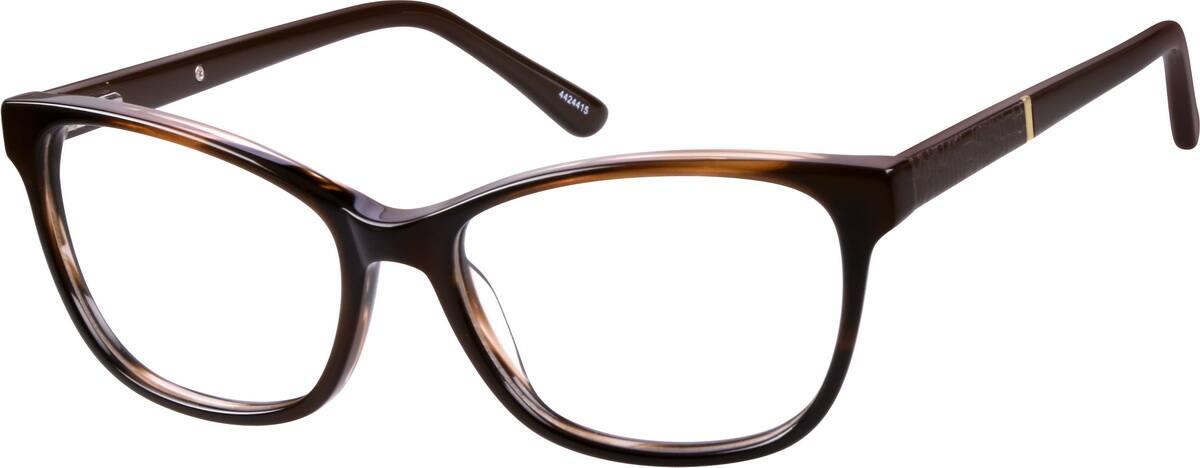 WomenFull RimAcetate/PlasticEyeglasses #4424415