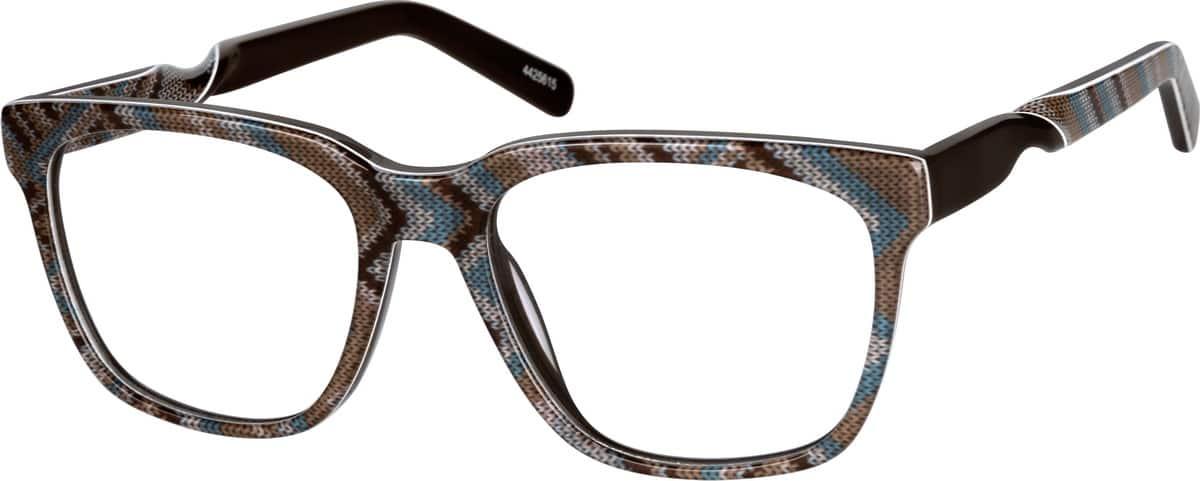 UnisexFull RimAcetate/PlasticEyeglasses #4425624