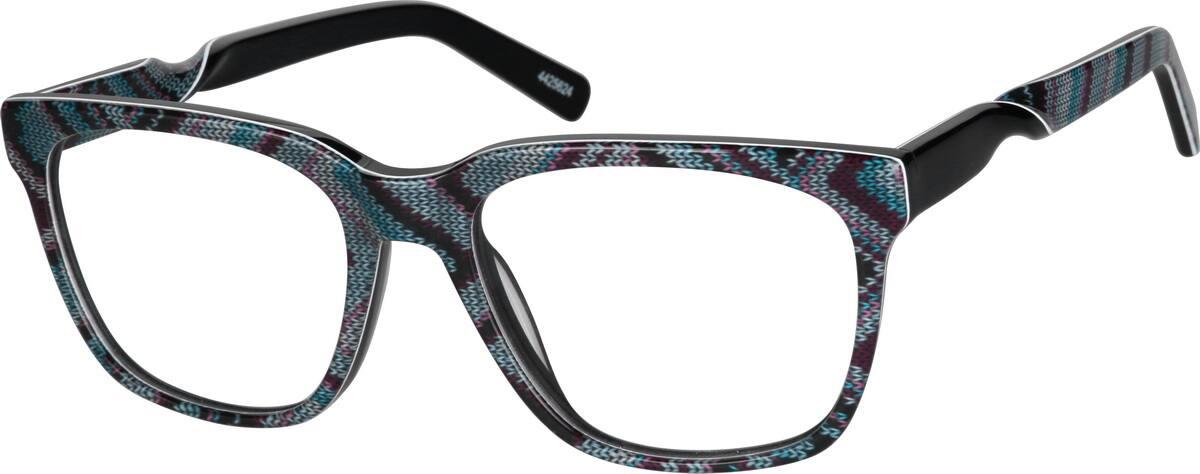 UnisexFull RimAcetate/PlasticEyeglasses #4425615