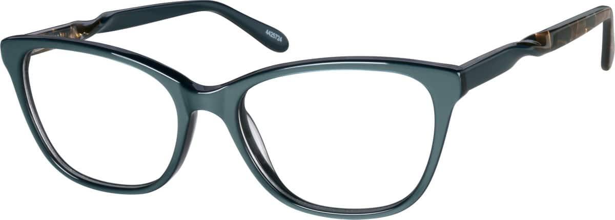 WomenFull RimAcetate/PlasticEyeglasses #4425724