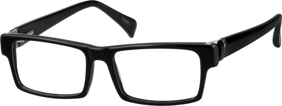 Acetate Full-Rim Frame with Spring Hinge