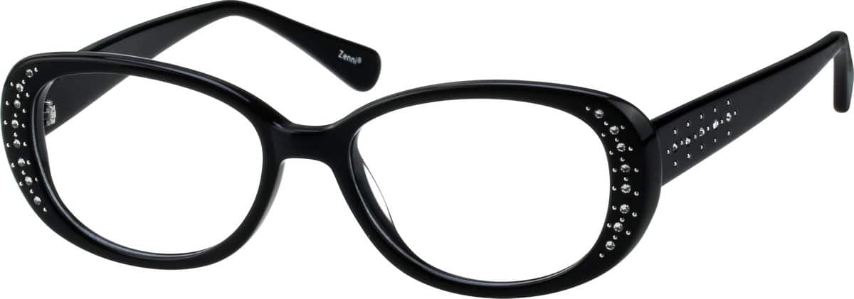 Women Full Rim Acetate/Plastic Eyeglasses #443325