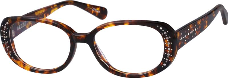 Women Full Rim Acetate/Plastic Eyeglasses #443321
