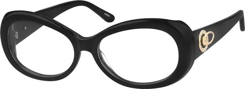 WomenFull RimAcetate/PlasticEyeglasses #443621