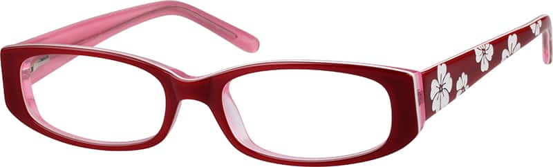 Women Full Rim Acetate/Plastic Eyeglasses #444218
