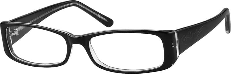 WomenFull RimAcetate/PlasticEyeglasses #444721
