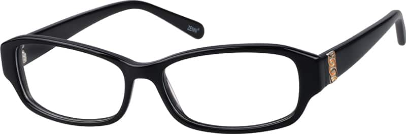 Women Full Rim Acetate/Plastic Eyeglasses #445121