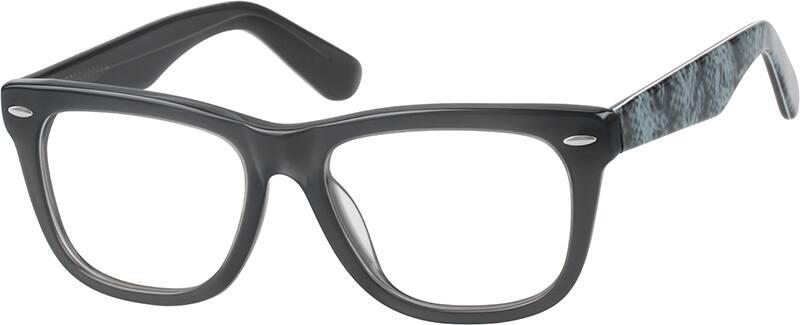 UnisexFull RimAcetate/PlasticEyeglasses #445421