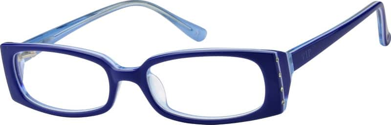 Kids Full Rim Acetate/Plastic Eyeglasses #446321