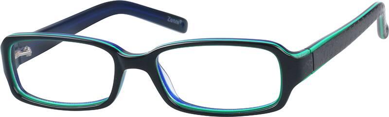 GirlFull RimAcetate/PlasticEyeglasses #446424