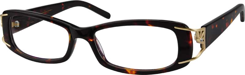 Women Full Rim Acetate/Plastic Eyeglasses #449021