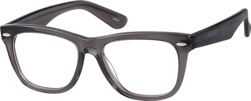 Translucent Wayfarer Eyeglasses & Sunglasses