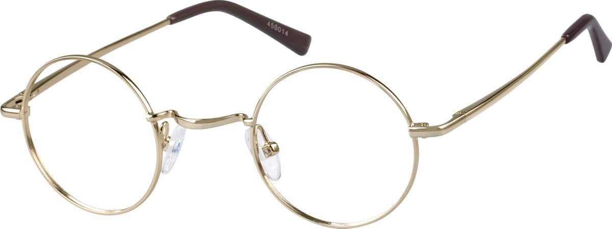 Men Full Rim Metal Eyeglasses #450014