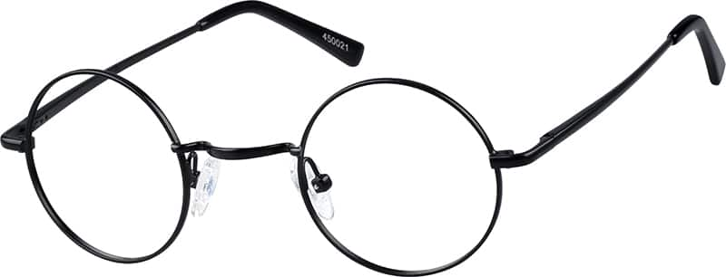 Metal Alloy Full-Rim Frame with Spring Hinge