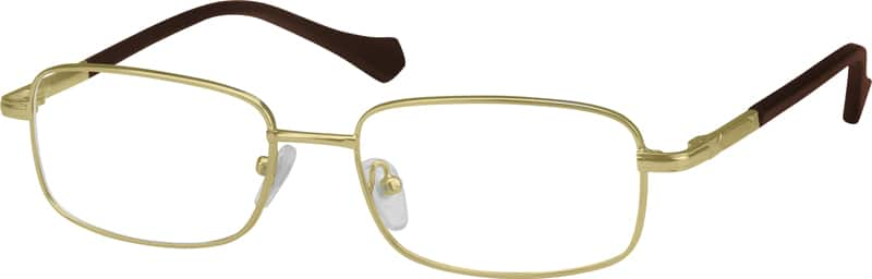 Men Full Rim Metal Eyeglasses #450412