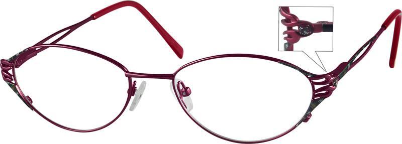 WomenFull RimMetalEyeglasses #450614