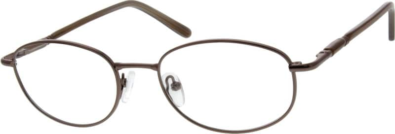 Women Full Rim Mixed Materials Eyeglasses #452115