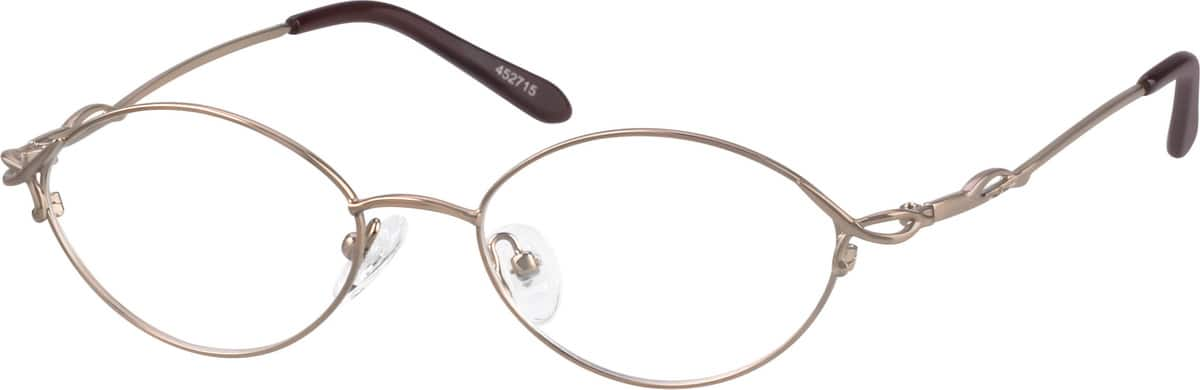 Metal Alloy Full-Rim Frame