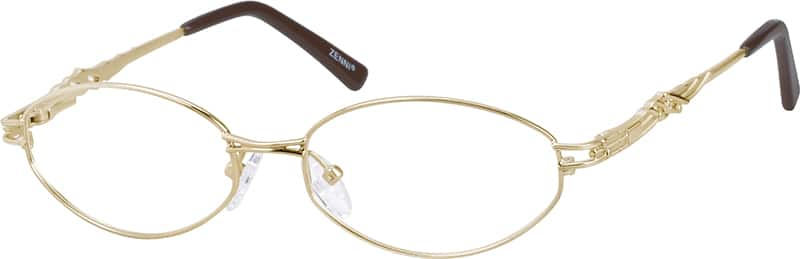 Women Full Rim Metal Eyeglasses #452914
