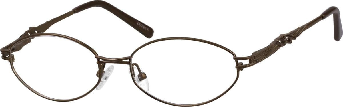 Women Full Rim Metal Eyeglasses #452915