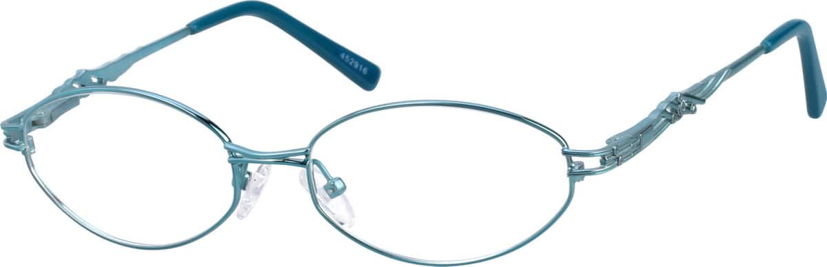 Women Full Rim Metal Eyeglasses #452916