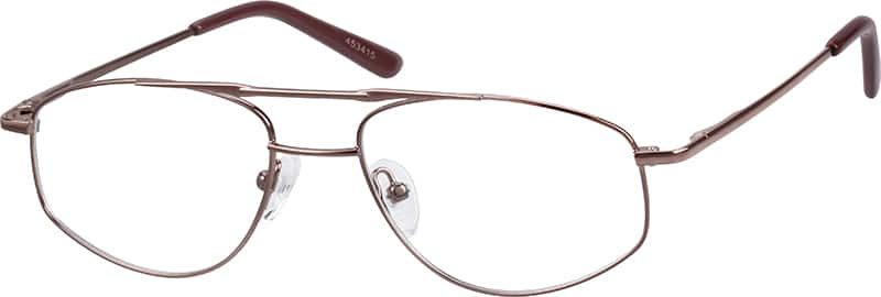 Men Full Rim Metal Eyeglasses #453415