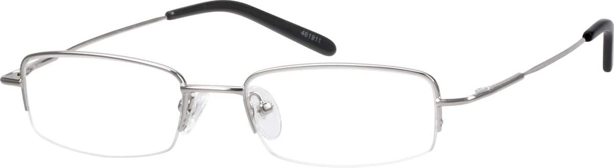 Metal Alloy / Stainless Steel Half Rim Frame