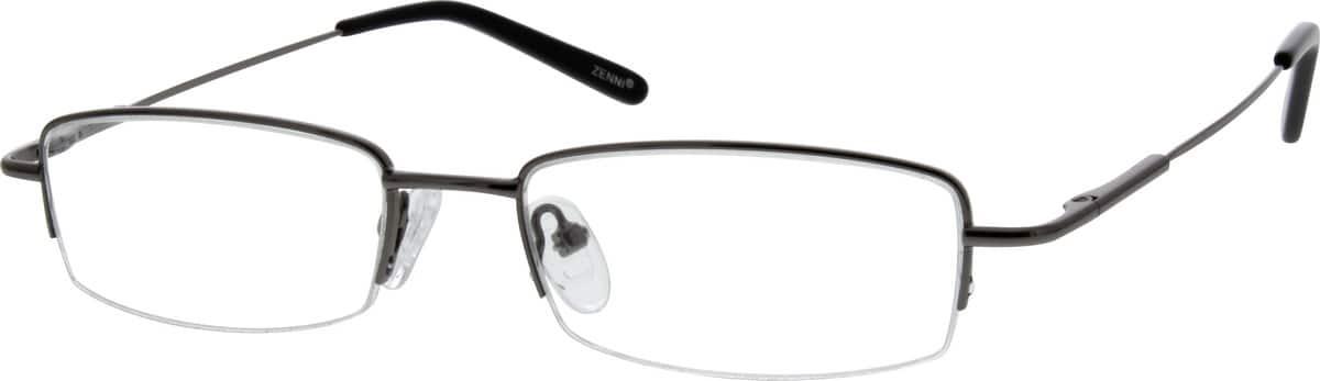 MenHalf RimStainless SteelEyeglasses #461921