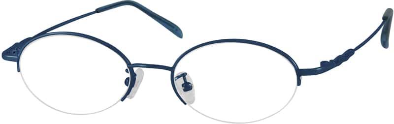 WomenHalf RimStainless SteelEyeglasses #462011