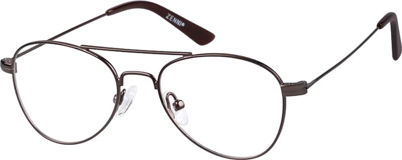 Kids Full Rim Metal Eyeglasses #462121