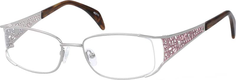 Women Full Rim Metal Eyeglasses #462711