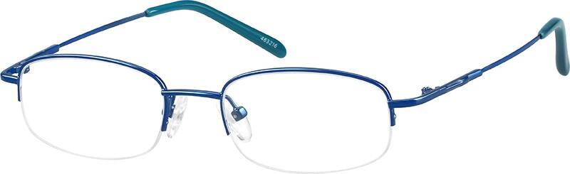 MenHalf RimStainless SteelEyeglasses #463212