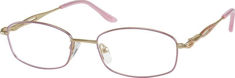 WomenFull RimMetalEyeglasses #469314
