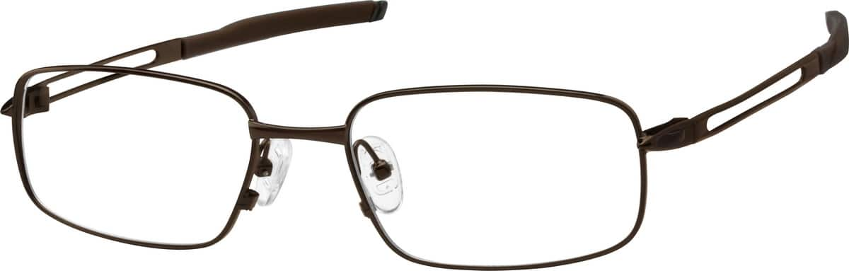 Men Full Rim Stainless Steel Eyeglasses #470421