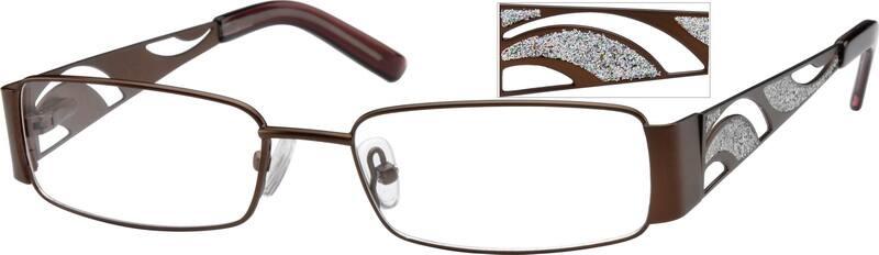 WomenFull RimStainless SteelEyeglasses #471215