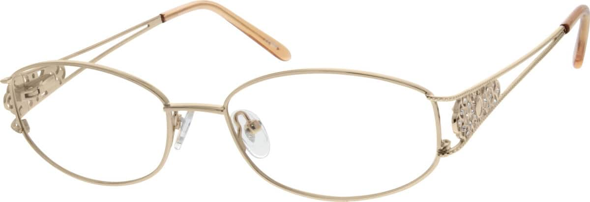 Women Full Rim Metal Eyeglasses #471814