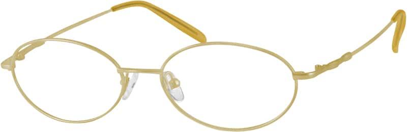 WomenFull RimMetalEyeglasses #473511