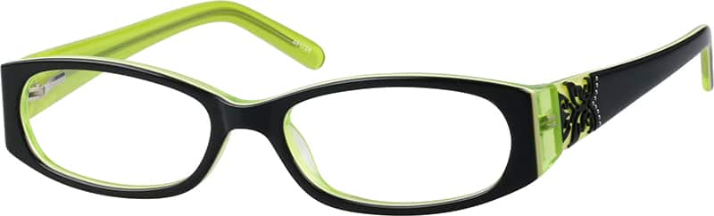 Women Full Rim Acetate/Plastic Eyeglasses #481722