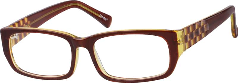 Brown 4822 Acetate Full-Rim Frame